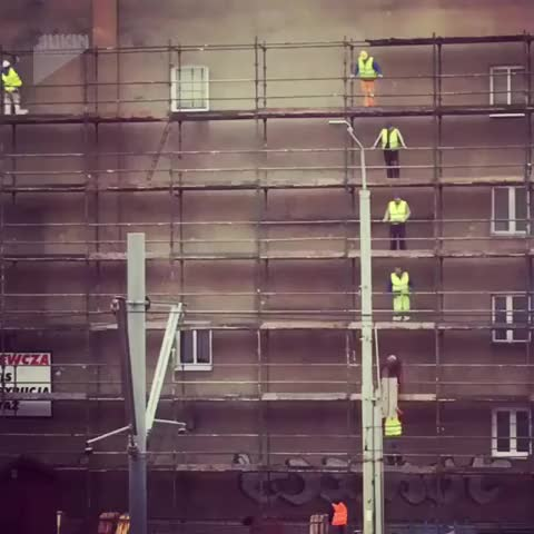 Watch Construction workers real life video game GIF by Slim Jones (@slimjones123) on Gfycat. Discover more Epic, Video, Viral GIFs on Gfycat