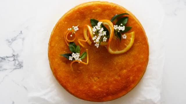 Watch and share Flourless Orange Cake-XowvxiGYsRI GIFs by Lion Heart on Gfycat