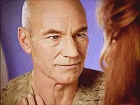Watch and share Patrick Stewart GIFs and Beverly Crusher GIFs on Gfycat