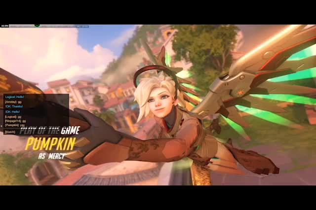 Watch Why I love Mercy Paintball GIF on Gfycat. Discover more Overwatch GIFs on Gfycat