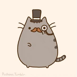Watch and share Fancy, Pusheen GIFs on Gfycat