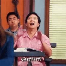 Watch this gay GIF on Gfycat. Discover more gay, ken jeong GIFs on Gfycat
