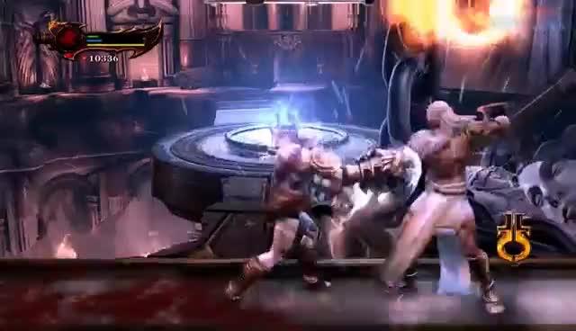 god of war kratos vs zeus