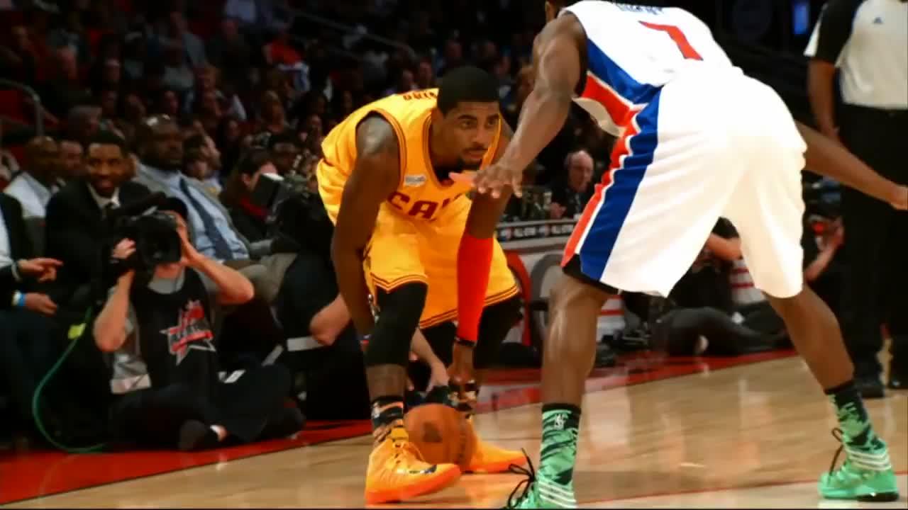 basketball, kyrie vs knight GIFs