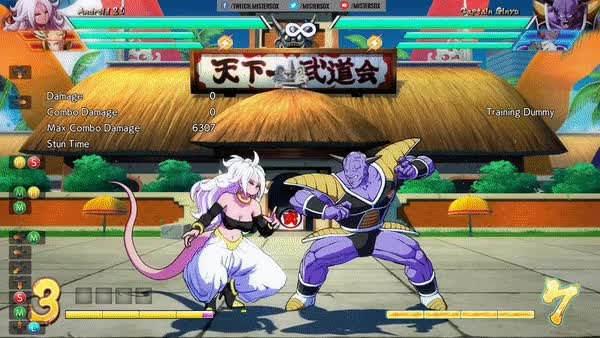 Watch Android 21 Level 3 Meteor Combo 6307 dng GIF by @mistersox on Gfycat. Discover more android 21, combo, dragon ball fighterz, meteor GIFs on Gfycat