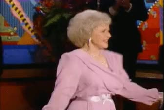 Watch this trending GIF by sannahparker on Gfycat. Discover more betty white, celebrate, dance, happy birthday betty white, shimmy, yas, yes GIFs on Gfycat