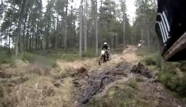 Watch and share Ktm Mud Crash GIFs on Gfycat