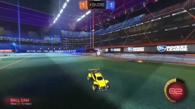 Watch this GIF by xboxdvr on Gfycat. Discover more RocketLeague, SourSkittles714, xbox, xbox dvr, xbox one GIFs on Gfycat