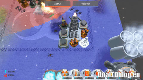 Multiplayer tower defense GIFs