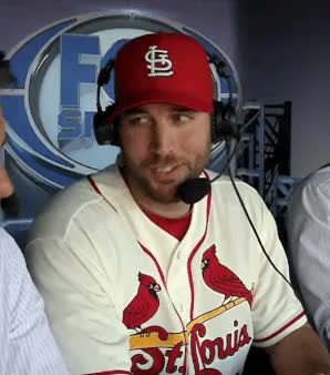 Watch and share Adam Wainwright GIFs and Baseball GIFs on Gfycat