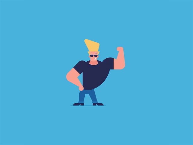 Watch and share Johnny Bravo GIFs on Gfycat