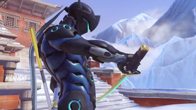 Watch and share Overwatch GIFs by s t r o o d e l on Gfycat