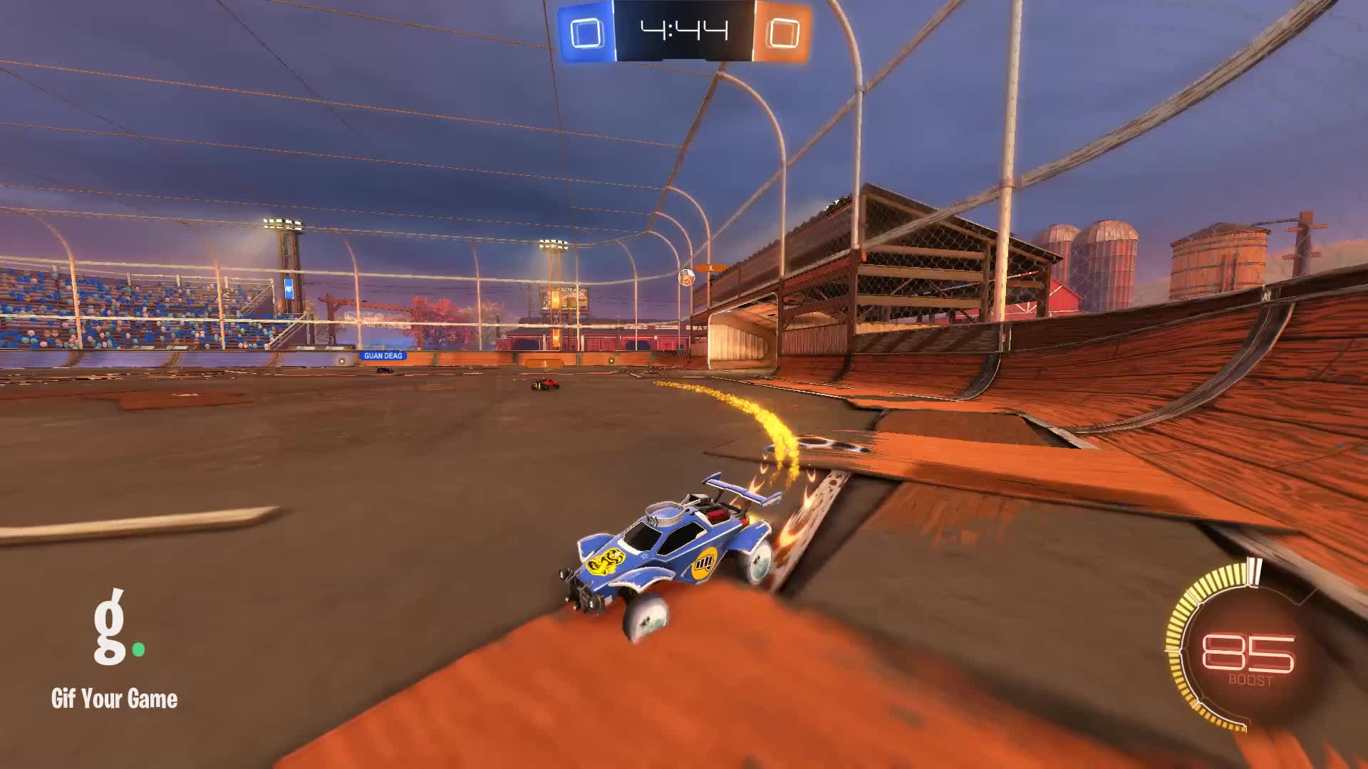 Gif Your Game, GifYourGame, Goal, Rocket League, RocketLeague, TrickyTaco, Goal 1: TrickyTaco GIFs