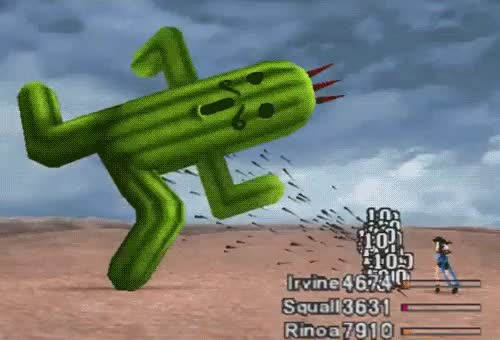 Watch and share Cactuar GIFs on Gfycat