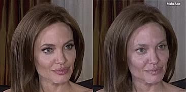Watch I-Tried-This-AI-Based-App-That-Removes-Makeup-On-Celebs-And-Heres-What-Happened-59f6ef696a7f7 605 GIF on Gfycat. Discover more angelina jolie GIFs on Gfycat