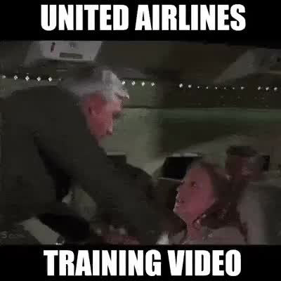 Watch United Airlines Training Video GIF on Gfycat. Discover more related GIFs on Gfycat
