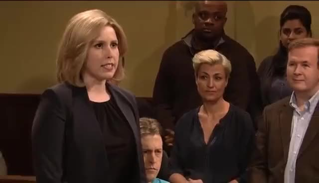Watch and share Saturday Night Live GIFs and Vanessa Bayer GIFs on Gfycat