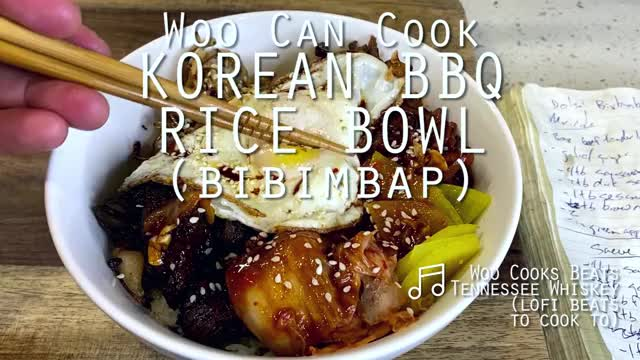 Watch and share Woo Can Cook | Korean BBQ Rice Bowl (Bibimbap) GIFs by WooCanCook on Gfycat