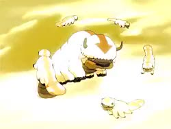 Watch LoK Obsessed GIF on Gfycat. Discover more aang, appa, appa and aang, appa's lost days, atla, avatar, avatar the last airbender, best buddies, flashback, young aang GIFs on Gfycat