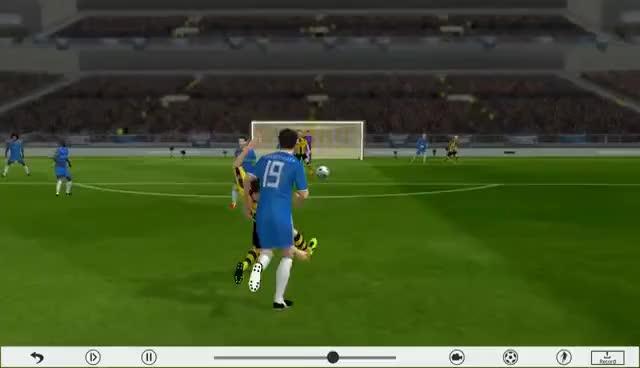 Watch and share Dream League Soccer 2016 Best Goals GIFs on Gfycat