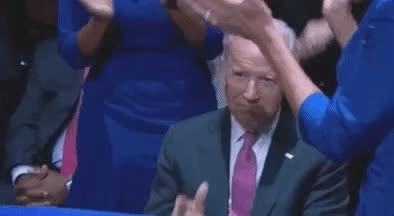 joe biden, joe biden finger gun obama farewell address GIFs