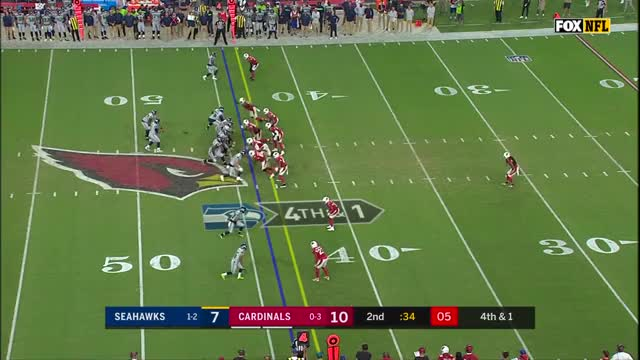 Watch this GIF on Gfycat. Discover more Arizona Cardinals, Seattle Seahawks, afc, football, highlight, highlights GIFs on Gfycat