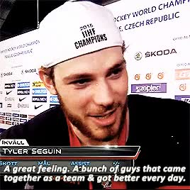 Watch his boy sid GIF on Gfycat. Discover more *, stars, team canada, tyler seguin GIFs on Gfycat
