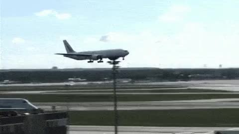 Watch and share Airplane Landing GIFs on Gfycat