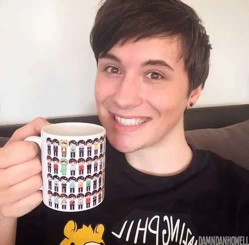 Watch and share Dan And Phil Shop GIFs and Amazingphil GIFs on Gfycat