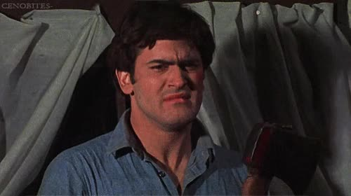 Watch and share Bruce Campbell GIFs and Do Not Want GIFs by werwolf on Gfycat