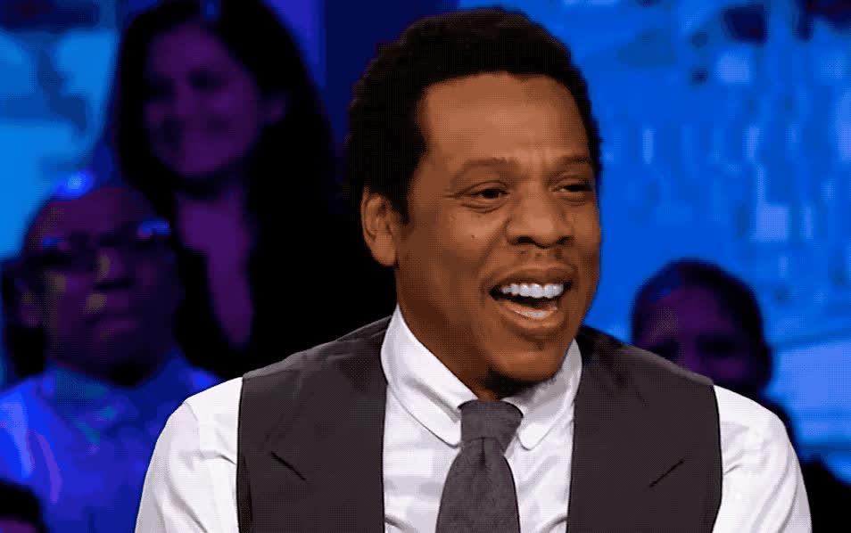 beyonce, epic, fake, fun, funny, hilarious, jay, jay z, joke, laugh, lol, loud, out, smile, z, Jay Z - lol GIFs