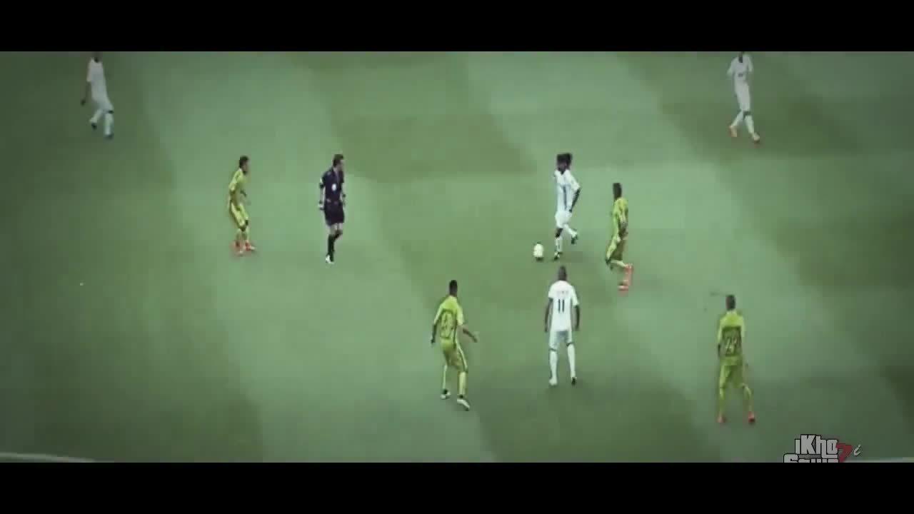 soccergifs, Ronaldinho's great finish Vs America (reddit) GIFs