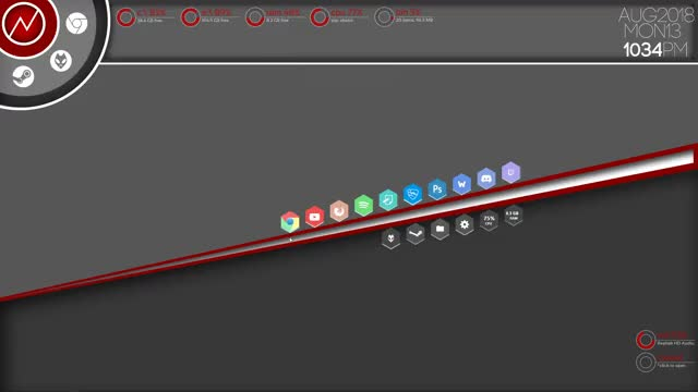 Watch and share Rainmeter GIFs and Wallpaper GIFs by DeathKnight on Gfycat