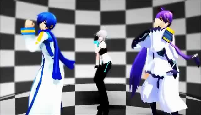 Watch Piko, Gakupo and Kaito Dancing GIF on Gfycat. Discover more Dancing, Gakupo, Kaito, Piko, Vocaloid GIFs on Gfycat