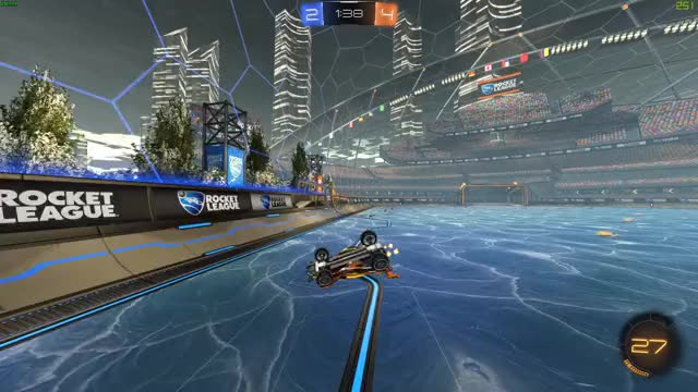 Watch and share Rocket League 2019.01.18 A Real Top Bins GIFs on Gfycat