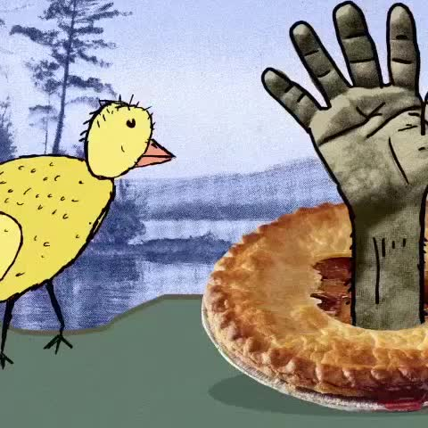 #adultswim #duck #pie GIFs