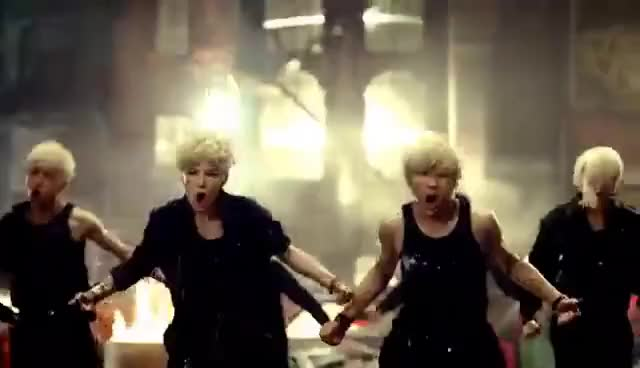 Watch and share B.a.p Warrior GIFs on Gfycat