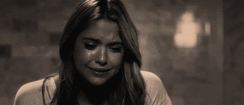 ashley benson crying GIFs