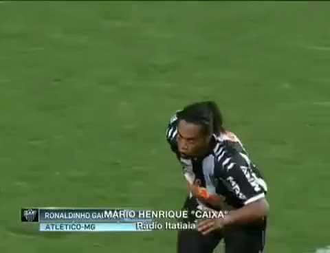 Watch and share Atletico Mineiro GIFs and Ronaldinho GIFs on Gfycat
