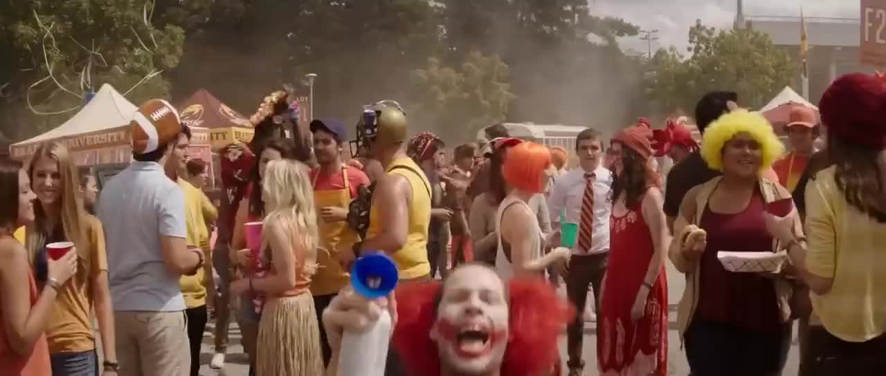 clown, creepy, Neighbors 2 - Scary Clown GIFs