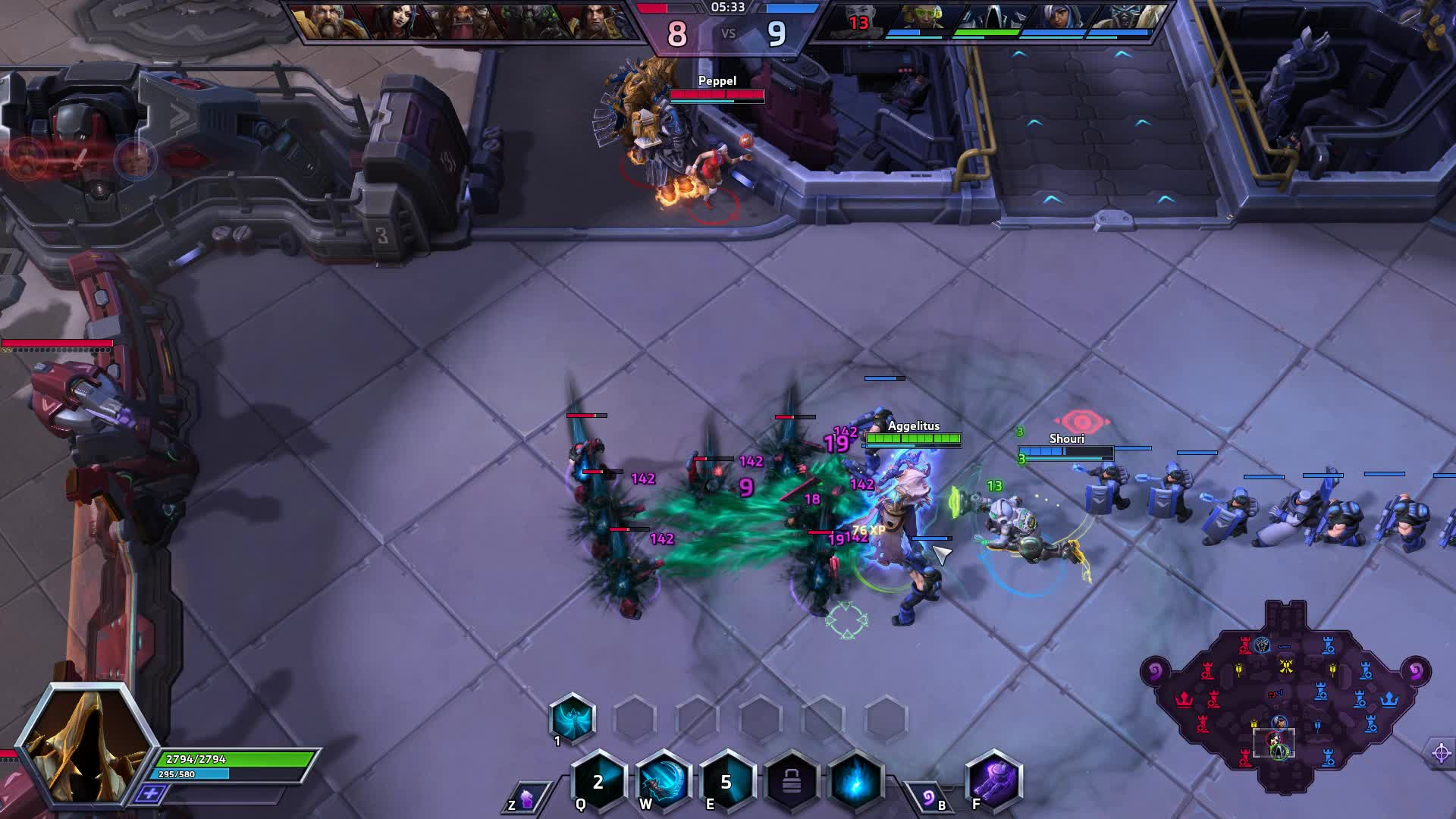 HotS, Clown gank GIFs