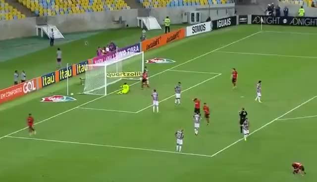 Watch and share [HD] GOL DE MARINHO - Fluminense 2x2 Vitória - Campeonato Brasileiro 2016 GIFs on Gfycat