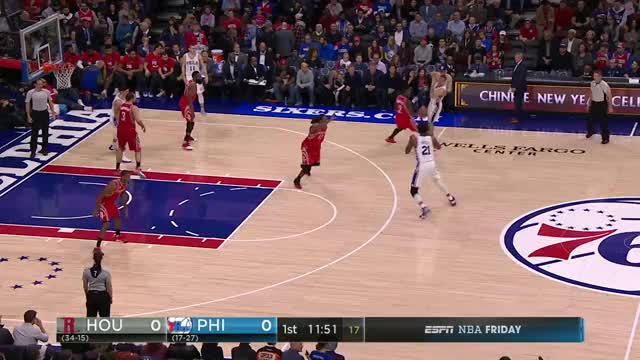 Watch and share Joel Embiid Posterizes Nene GIFs by unappreciatedmeme on Gfycat