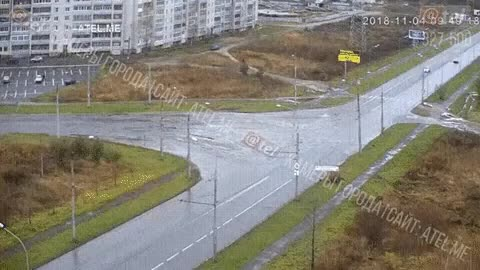 Watch and share Heavy Traffic Caused By Rush Hour In Russia Can Lead To A Lot Of Unavoidable Collisions GIFs by tothetenthpower on Gfycat