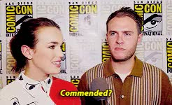 Watch little moments GIF on Gfycat. Discover more :') how is this real, agents of shield, aos, aos cast, elizabeth henstridge, iain de caestecker, iain x lil, my edit, sdcc GIFs on Gfycat