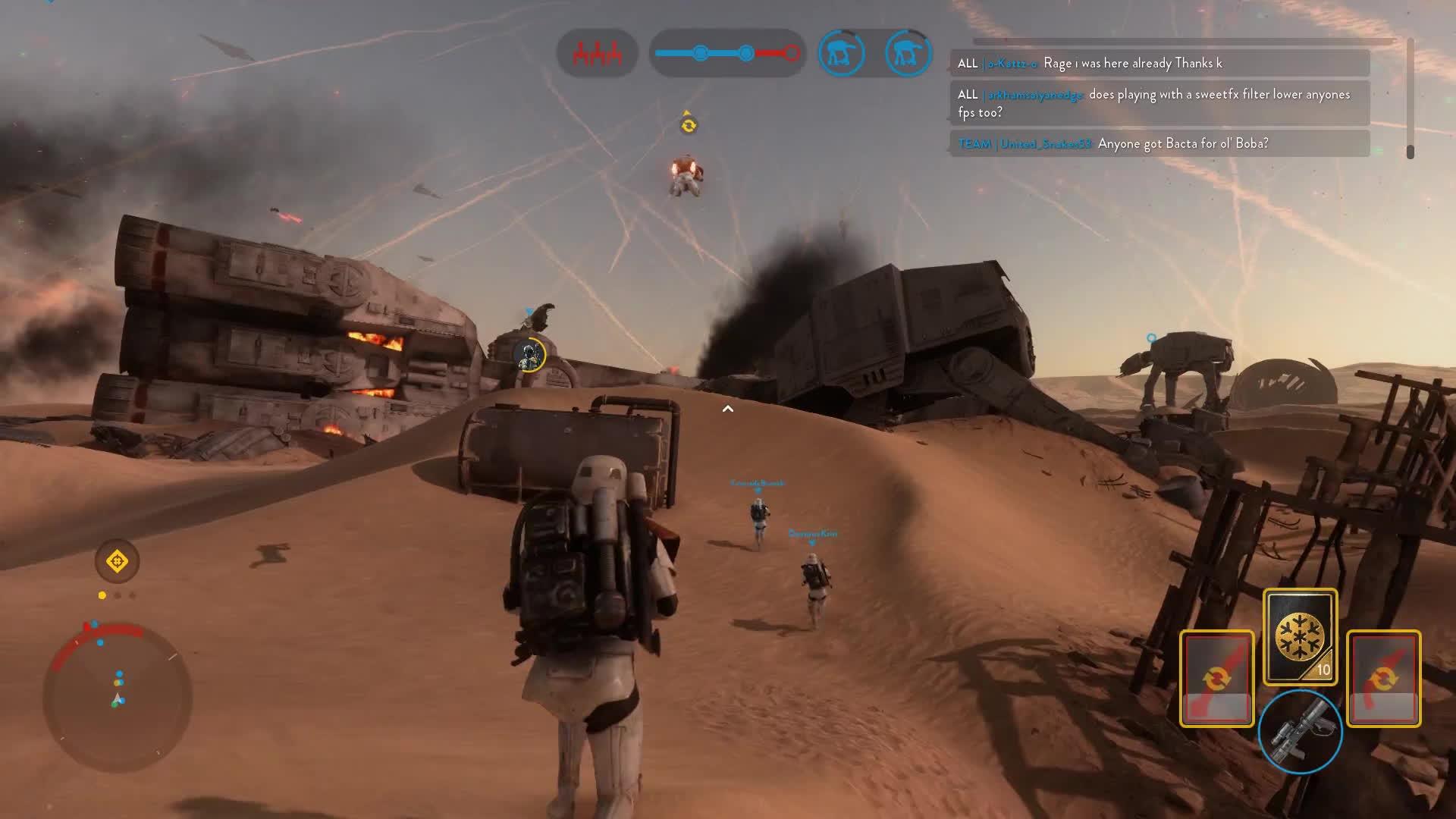 EmpireDidNothingWrong, geforcegtx, shareeverywin, Star Wars Battlefront Close Call GIFs