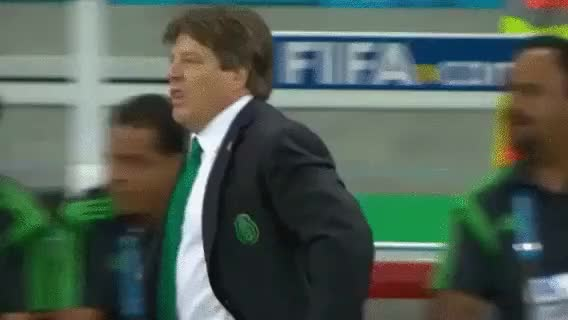 Watch No one celebrates as hard as Miguel Herrera. No one. (reddit) GIF on Gfycat. Discover more gifs, soccer GIFs on Gfycat