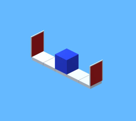Isometric Portals in Unity GIFs