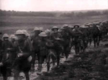 Watch Men of the 1st Hampshires march to the Somme on June 30th 1916. GIF by @capnfancypants on Gfycat. Discover more imagesofthe1910s, somme GIFs on Gfycat