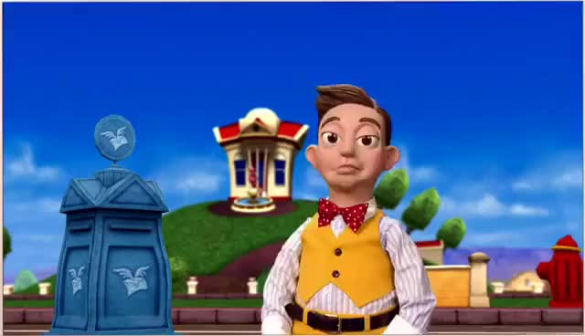 Watch and share LazyTown | The Mine Song Music Video GIFs on Gfycat